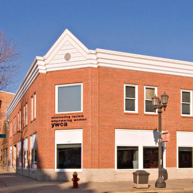 1990s photo of YWCA St. Paul's building exterior