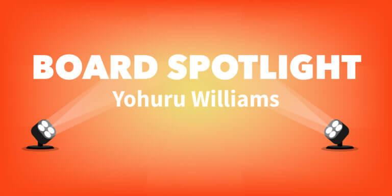 Board Spotlight: Yohuru Williams